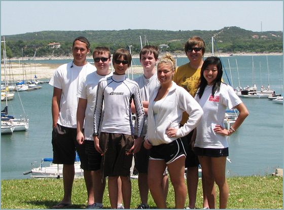 Rockwall Heath High School Sailing Club competes on Lake ...