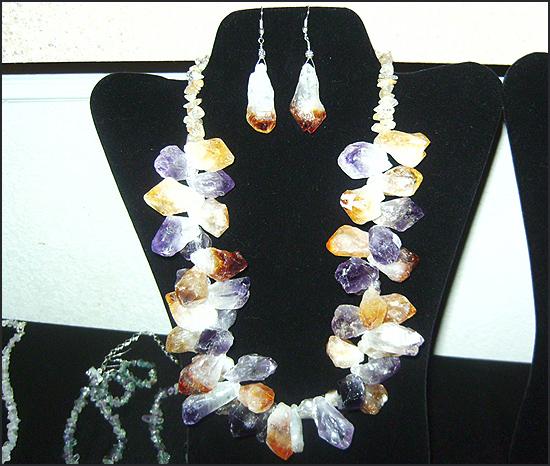 Agate jewelry