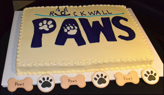 paws cake