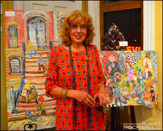 Rockwall Artist Betty Hoaglund