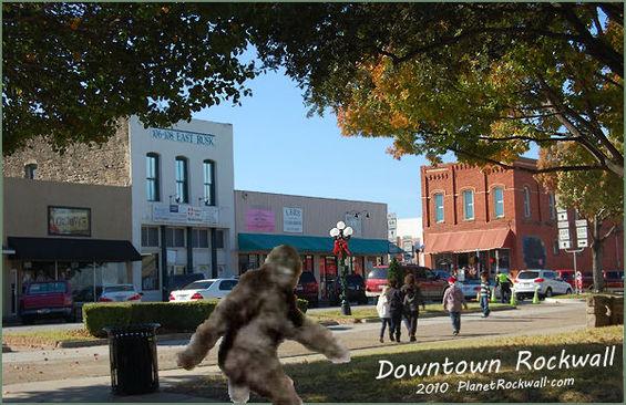 Bigfoot downtown Rockwall