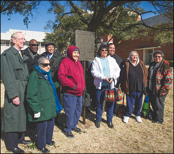 Caddo Indians dedication