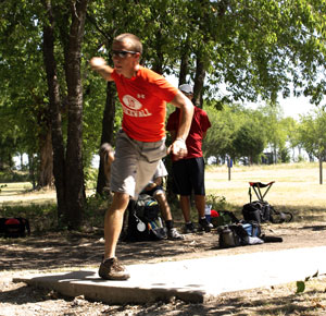 Casey Wright - Rockwall disc golf