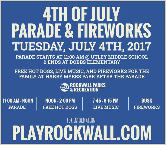 July 4 Rockwall
