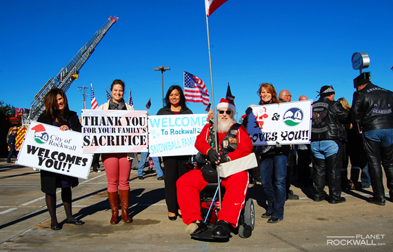 Santa & City of Rockwall