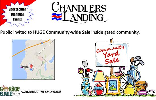 Chandler's Landing Community Yard Sale