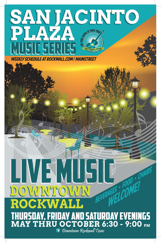 San Jacinto Plaza Music Series @ San Jacinto Plaza | Rockwall | Texas | United States
