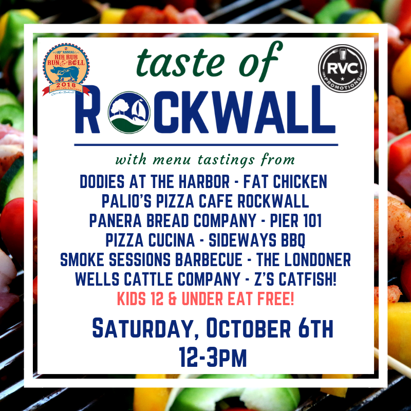 Taste of Rockwall @ Downtown Rockwall