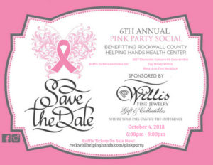 Pink Party | Fundraiser for Helping Hands @ Willis Fine Jewelry