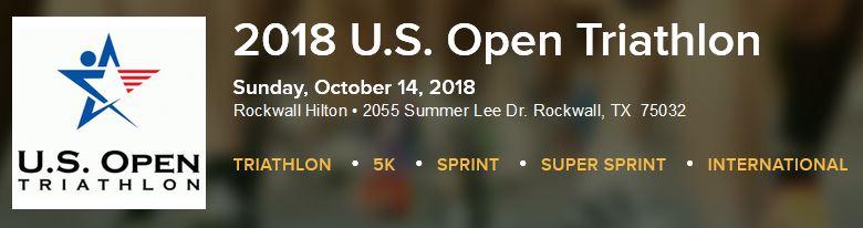 2018 U.S. Open Triathlon | Rockwall Hilton | Lake Ray Hubbard @ Hilton / Harbor on Lake Ray Hubbard