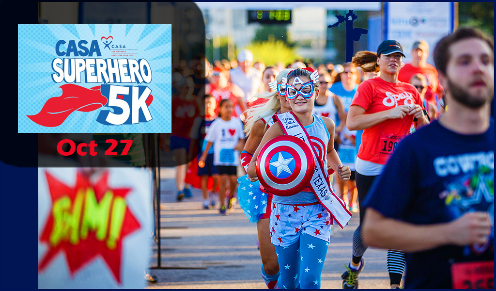 CASA's 10th Superhero 5K and Fun Run – 10.27.2018