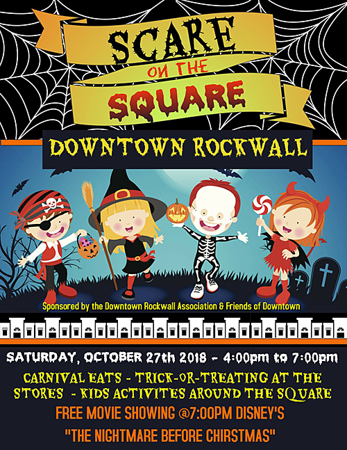 Scare on the Square | Downtown Rockwall @ Downtown Rockwall - Historic Square | Rockwall | Texas | United States