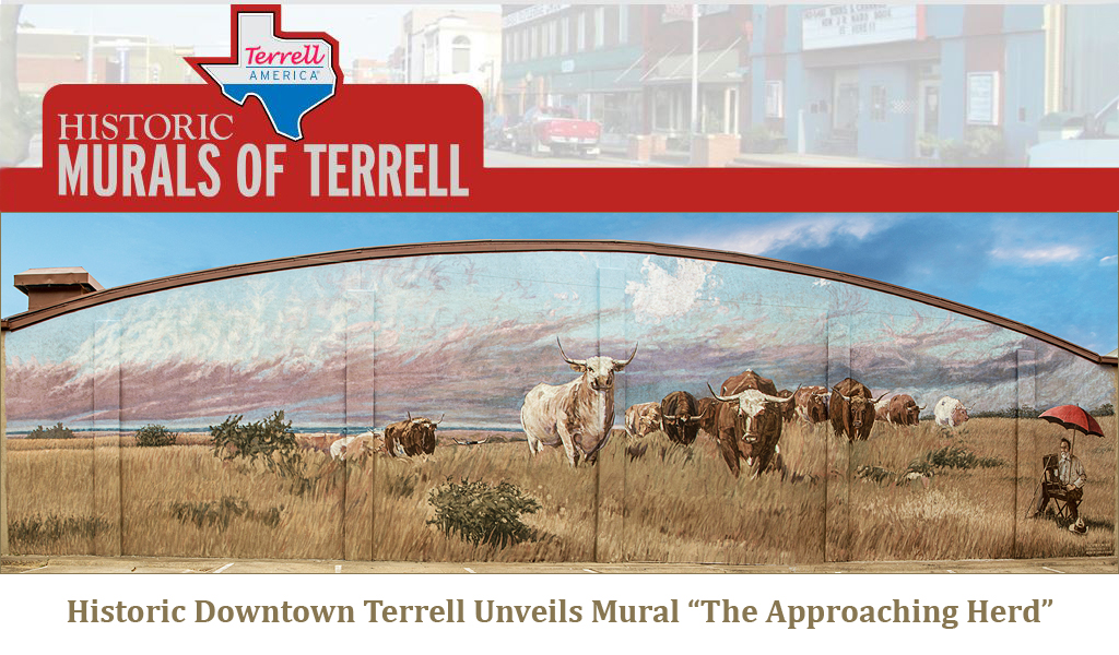 Nov 17 | Historic Downtown Terrell unveils 96-foot mural