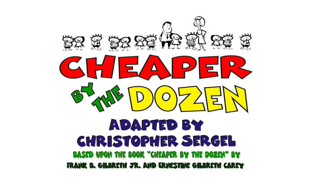Rockwall Community Playhouse presents Cheaper by the Dozen