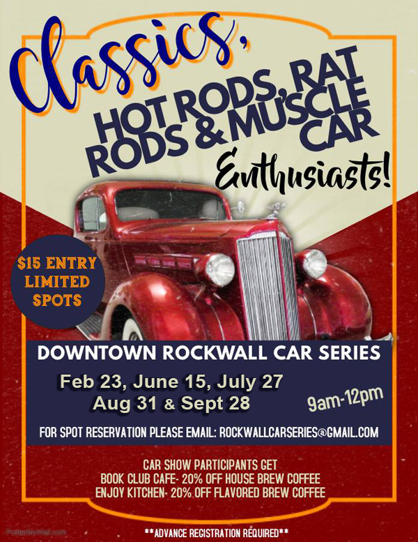 Car Show | Downtown Rockwall @ Downtown Rockwall