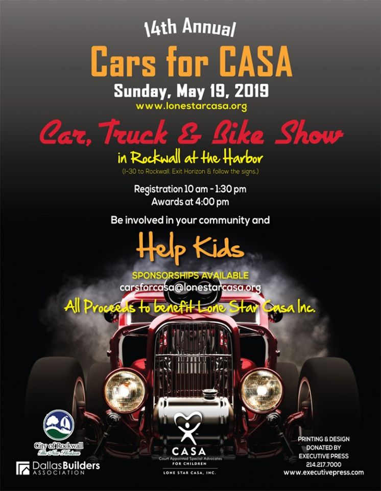 Cars for CASA Auto Show @ The Harbor in Rockwall | Lake Ray Hubbard | Rockwall | Texas | United States