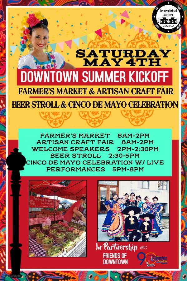 Downtown Summer Kickoff! @ Downtown Rockwall