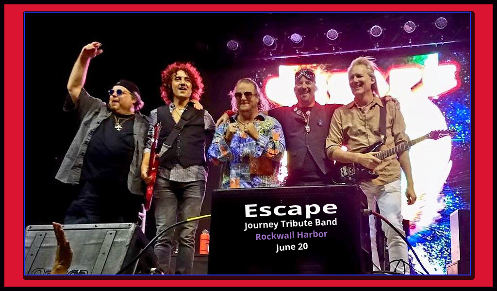 Concert by the Lake | Escape | June 20