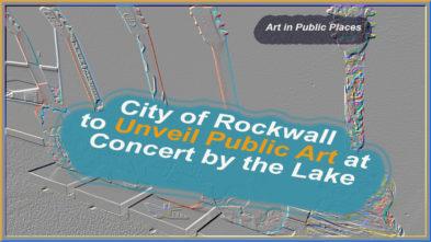 Guitars Art in Public Places Rockwall TX