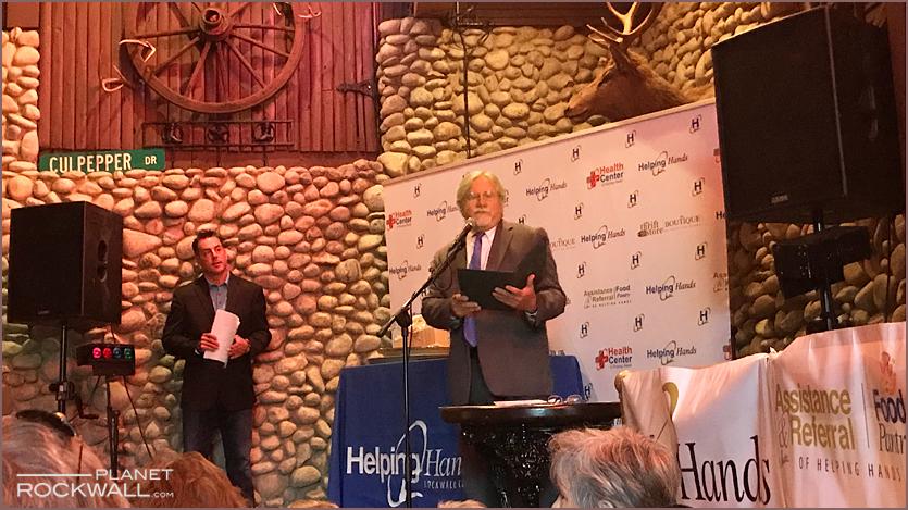 Jon Bailey and Rockwall Mayor Jim Pruitt