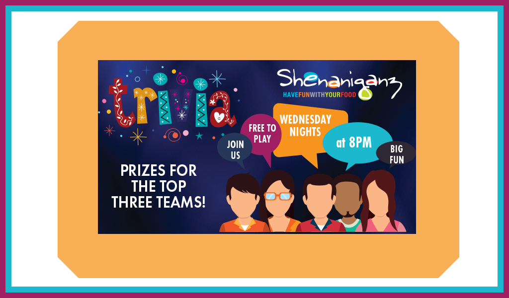 Trivia Night at Shenaniganz
