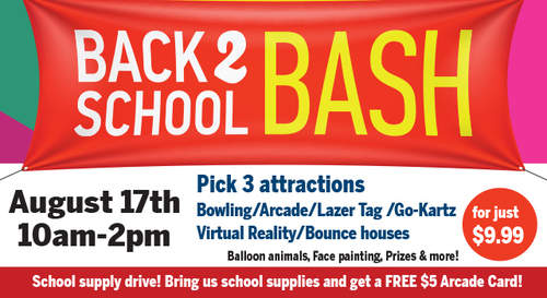 Back To School Bash @ Shenaniganz @ Shenaniganz Rockwall | Rockwall | Texas | United States