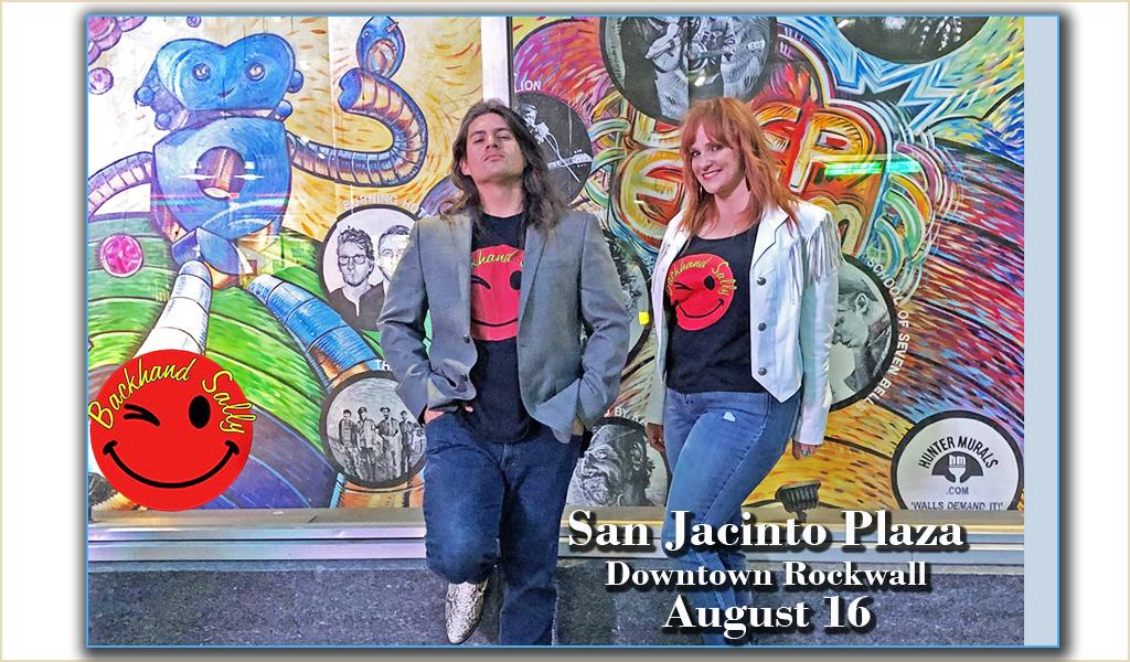 Aug 16 | San Jacinto Music | Downtown Rockwall