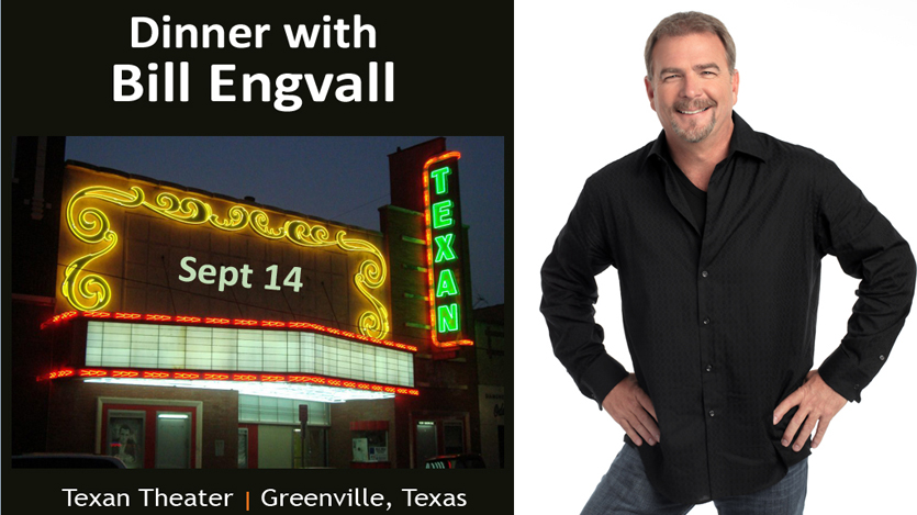 Comedian Bill Engvall Texan