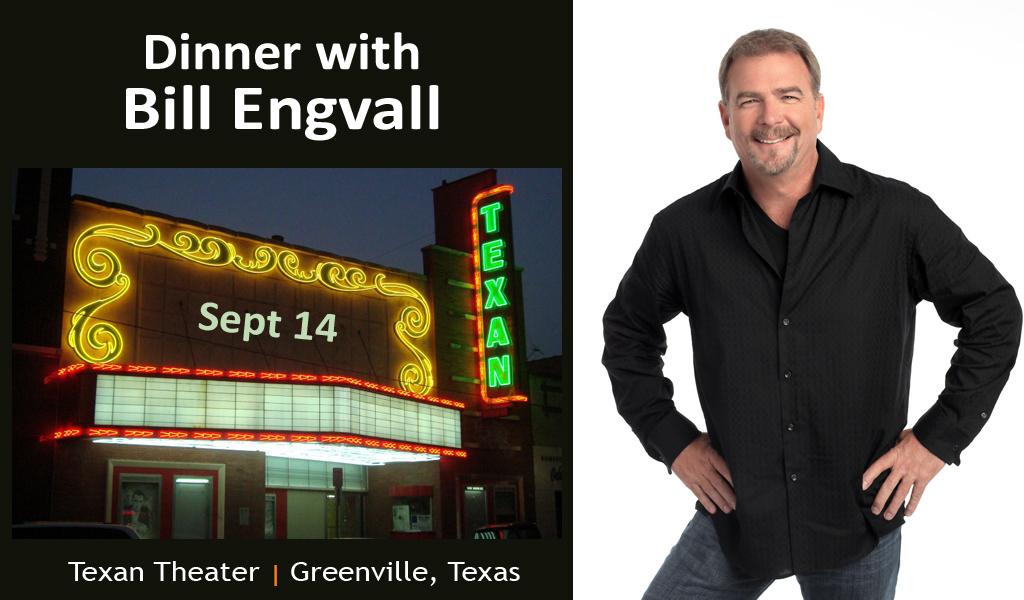 Bill Engvall Greenville TX