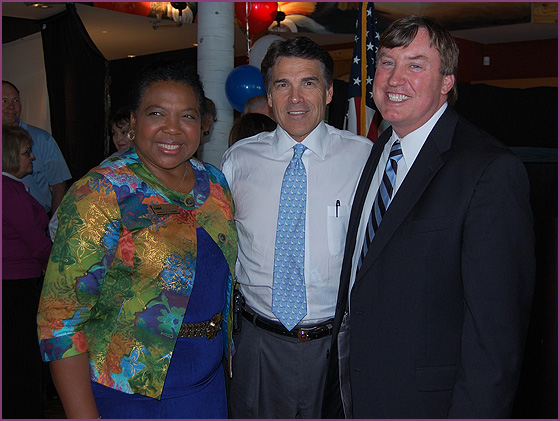 Rick Perry, Judges Wright and Bridges