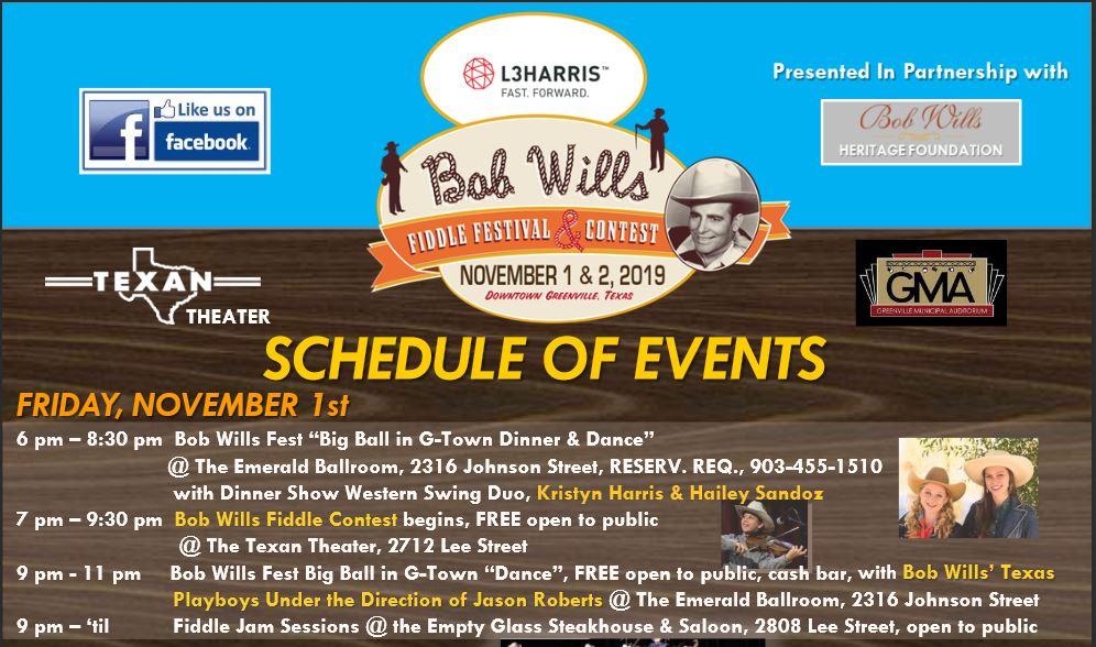 Fiddle contest Greenville TX