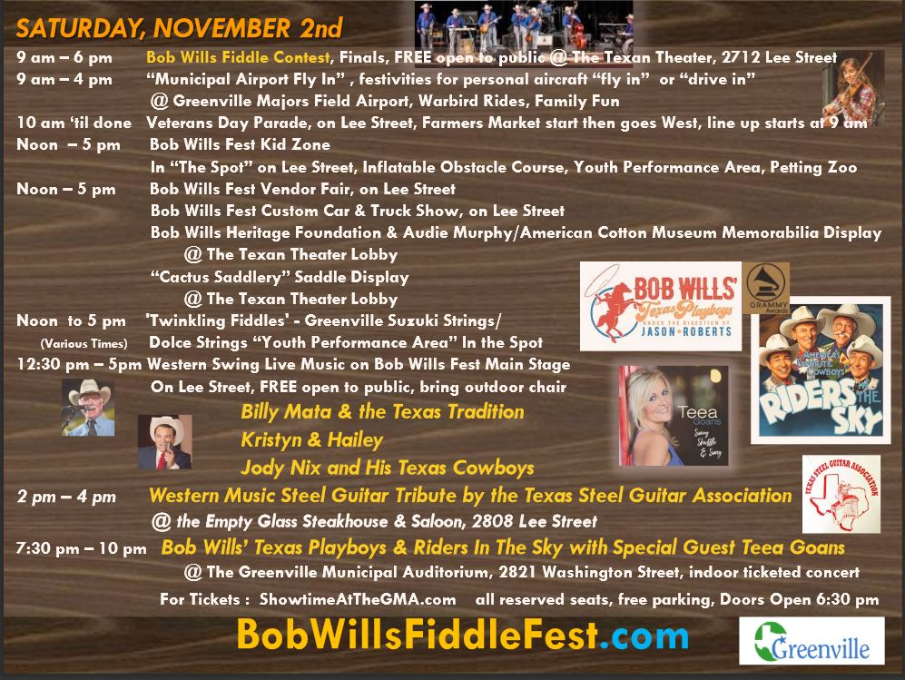 Fiddle Contest Greenville Texas