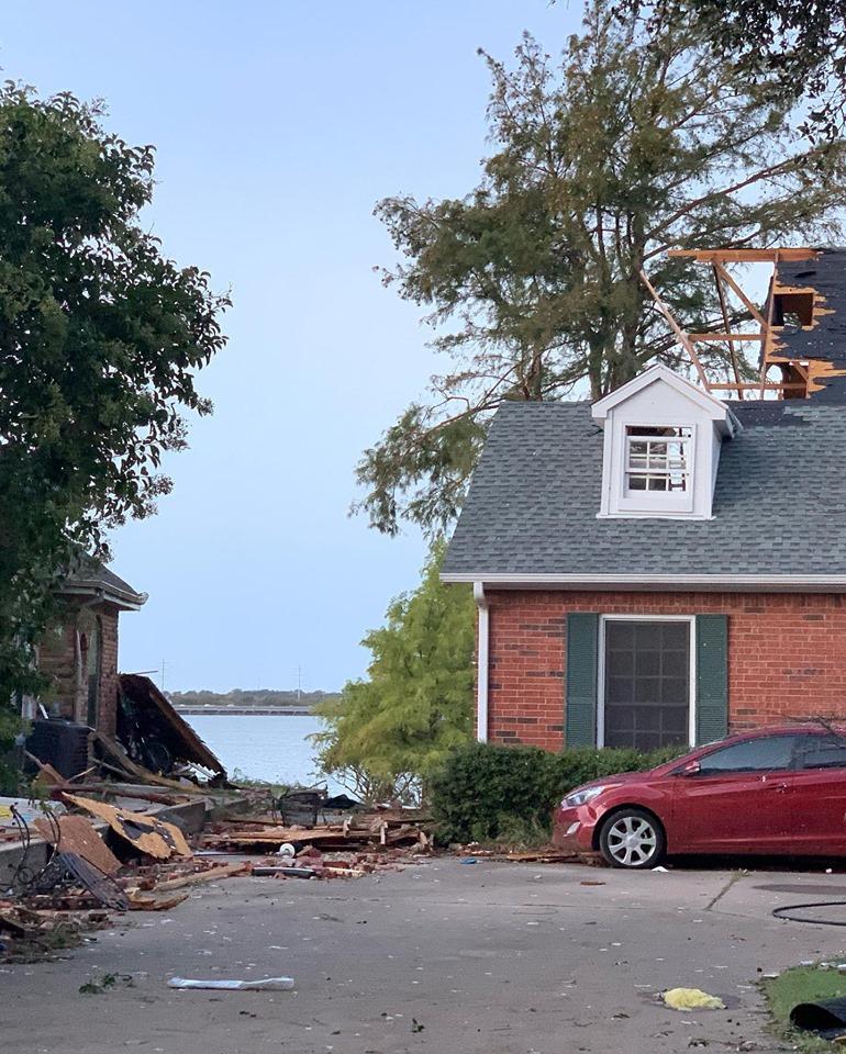 Rockwall Storm damage Oct 2019