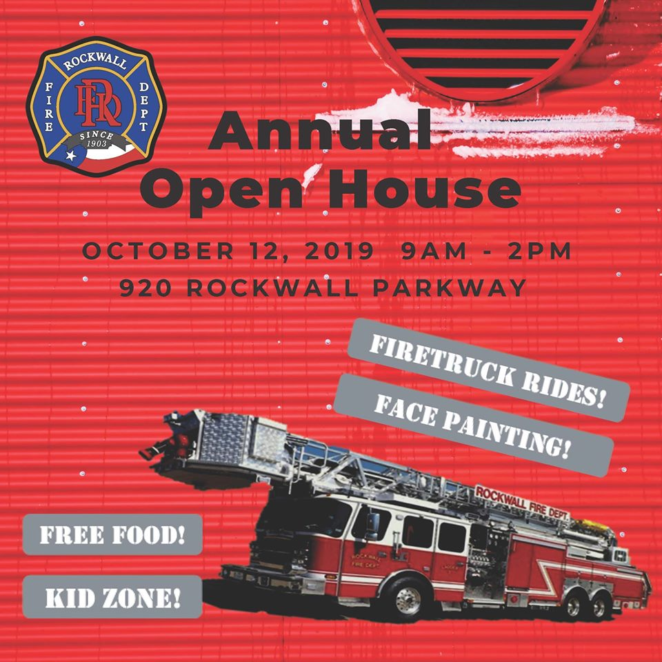 Fire Department Open House @ Rockwall Fire Department | Rockwall | Texas | United States