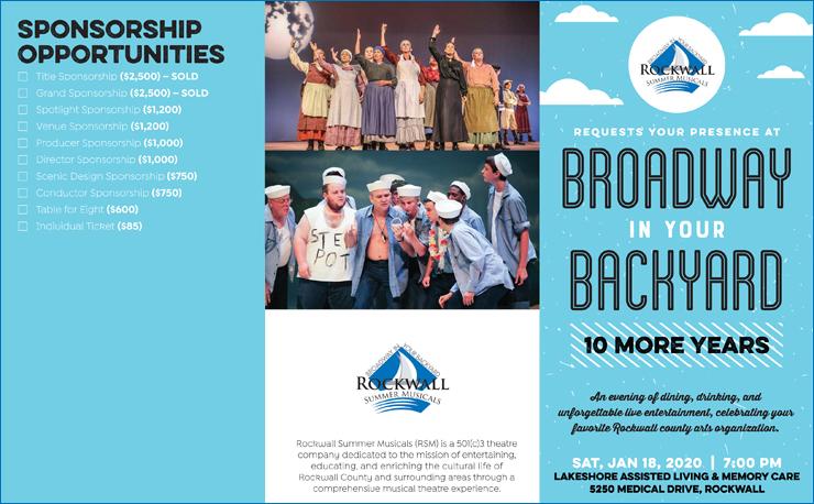 Rockwall Summer Musicals Celebration