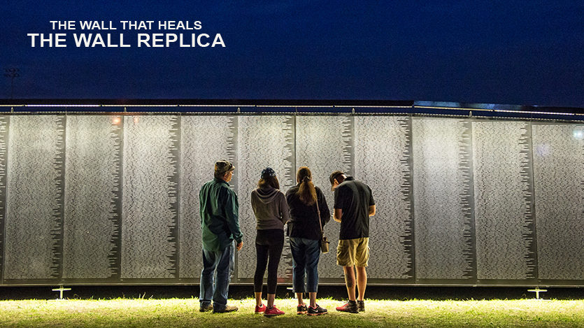 Vietnam Veterans Memorial Wall Replica