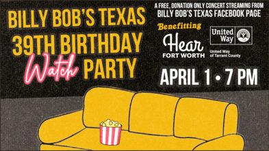 Billy Bobs Texas concert