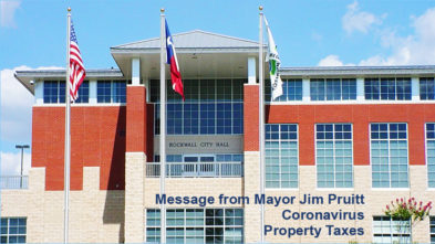 Rockwall Mayor Property Tax Covid-19