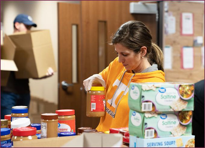 LPC Rockwall food donations
