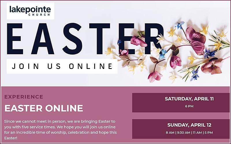 Lake Pointe Church Christmas Service 2020 Lake Pointe Church Easter | VIRTUAL | PlaRockwall | Rockwall