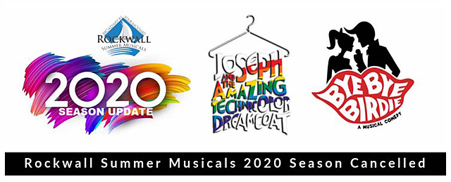 Rockwall Summer Musicals 2020