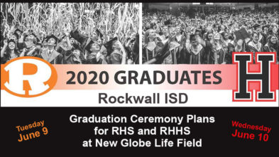 Rockwall 2020 graduation