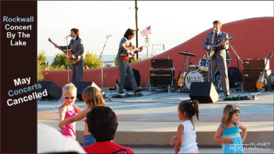 Rockwall Concert by Lake