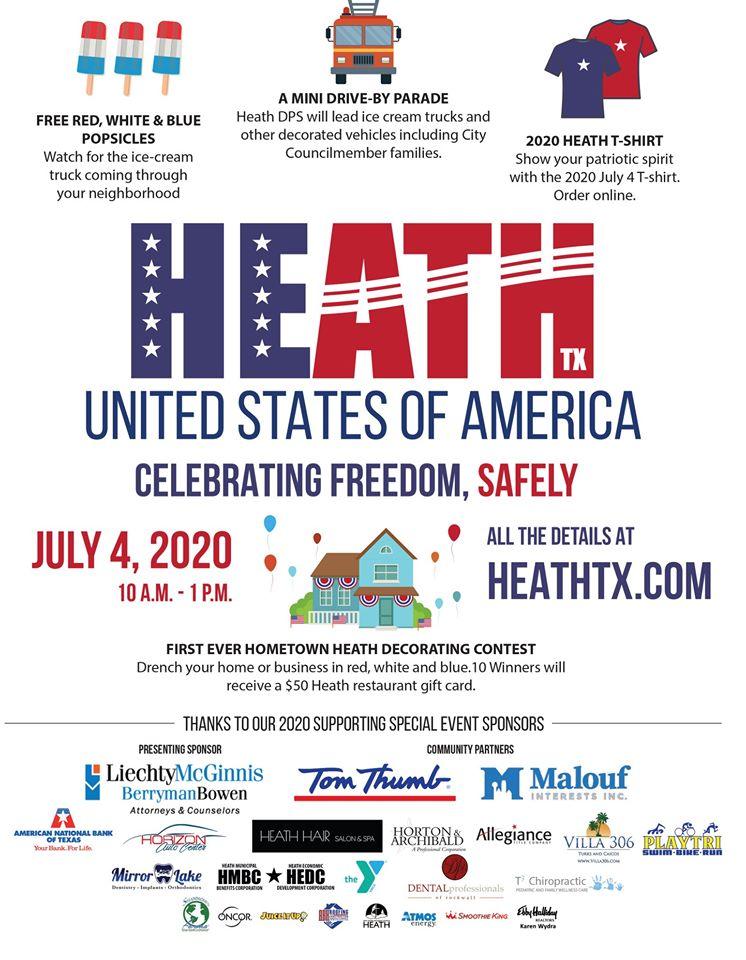 City of Heath Independence Day Festivities @ Your Neighborhood | Heath | Texas | United States