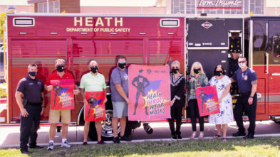 Heath TX Mask Campaign