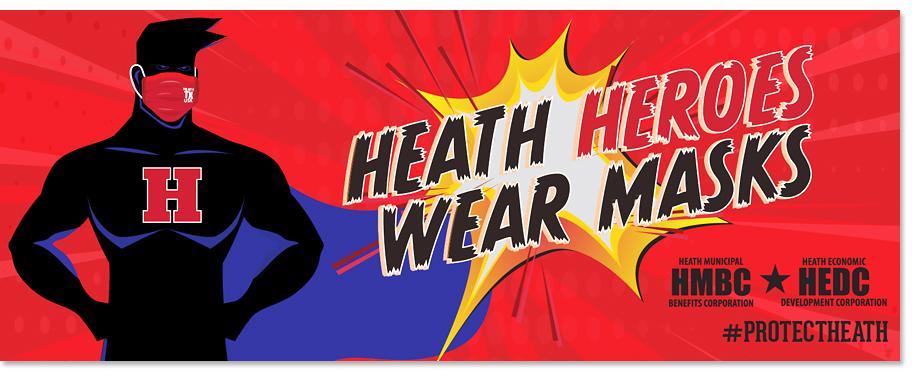 Heath Texas COVID-19 Masks