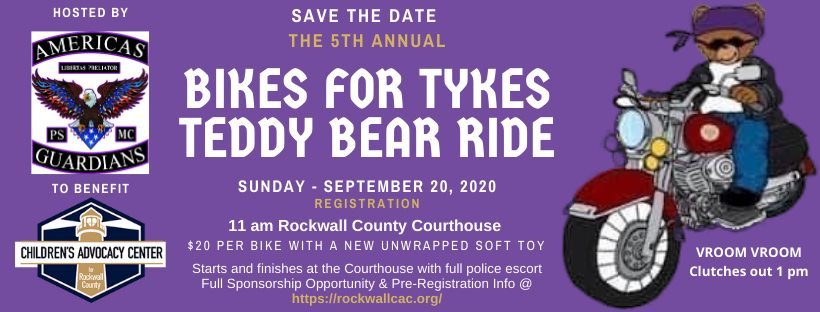 Bikes for Tykes Fundraiser @ Rockwall County Courthouse | Rockwall | Texas | United States